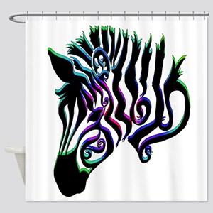 ZEBRA!! Shower Curtain