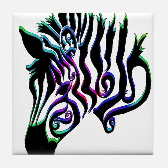 ZEBRA!! Tile Coaster