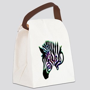 ZEBRA!! Canvas Lunch Bag