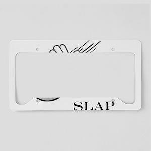 The Gibbs Slap License Plate Holder
