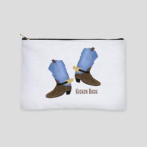Personalized Cowboy Boots Makeup Pouch