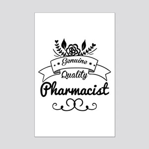 Genuine Quality Pharmacist Mini Poster Print