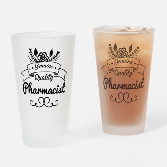Genuine Quality Pharmacist Drinking Glass