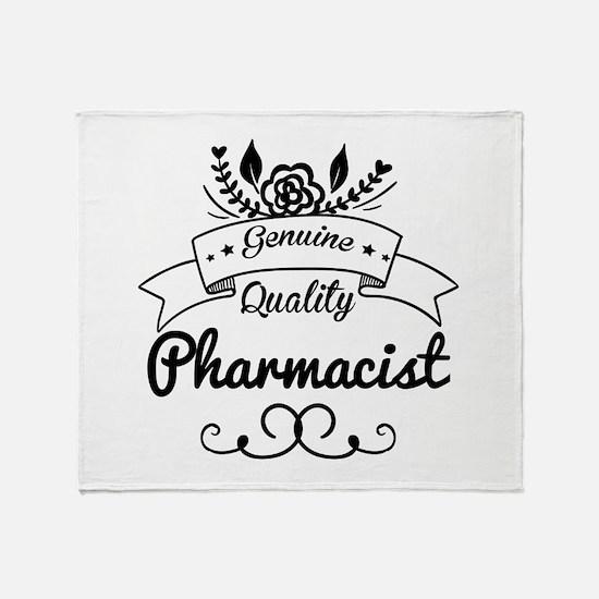 Genuine Quality Pharmacist Throw Blanket