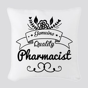 Genuine Quality Pharmacist Woven Throw Pillow