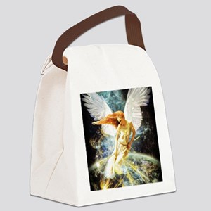 Guardian Angel Canvas Lunch Bag