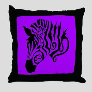 ZEBRA!! Throw Pillow