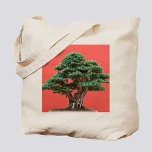 Yew bonsai Tote Bag