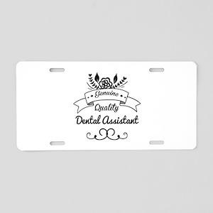Genuine Quality Dental Assi Aluminum License Plate