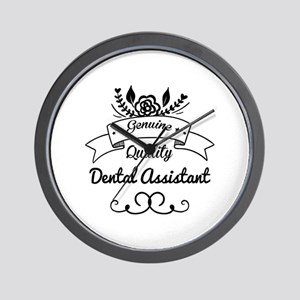 Genuine Quality Dental Assistant Wall Clock