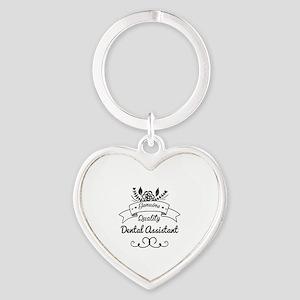 Genuine Quality Dental Assistant Heart Keychain