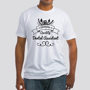 Genuine Quality Dental Assistant Fitted T-Shirt