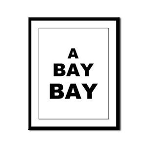 A Bay BAY Framed Panel Print