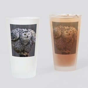 Magnificent OWL Drinking Glass