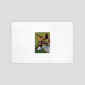 red fox 4' x 6' Rug