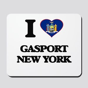I love Gasport New York Mousepad