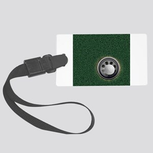 Golf Cup and Ball Large Luggage Tag