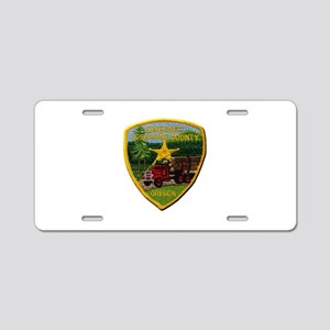 Josephine County Sheriff Aluminum License Plate