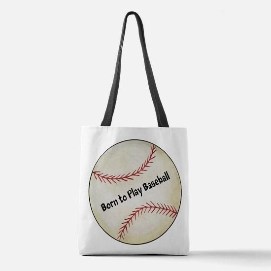 Baseball Polyester Tote Bag