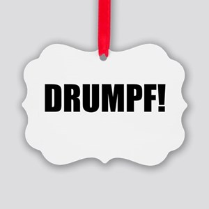 Drumpf! Picture Ornament