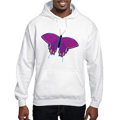 Purple Butterfly Hoodie