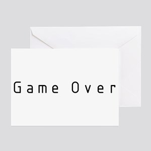 Game Over Greeting Cards (Pk of 10)