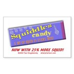 Squiddles Rectangle Sticker
