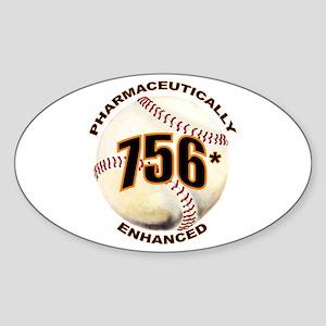 756-Enhanced Oval Sticker