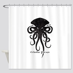 Cthulhu Dark Shower Curtain