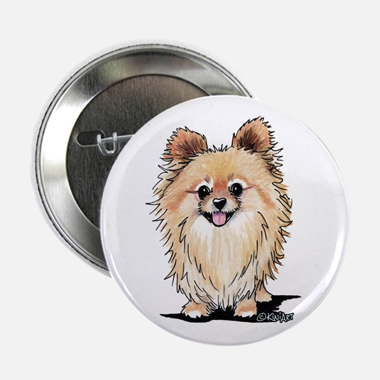 "KiniArt Bella Pom 2.25"" Button"