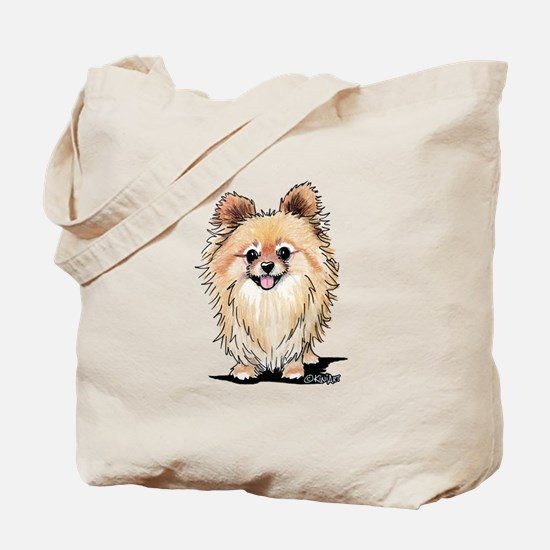 KiniArt Bella Pom Tote Bag