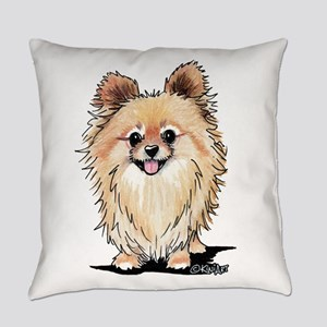 KiniArt Bella Pom Everyday Pillow