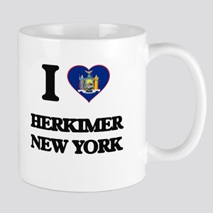 I love Herkimer New York Mugs