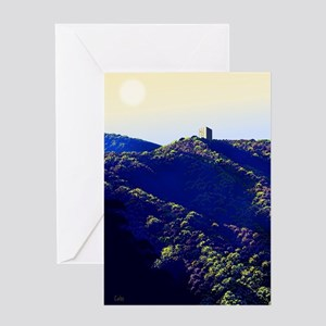 The Cube Greeting Cards