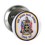 "USS JOHN PAUL JONES 2.25"" Button"