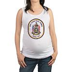 USS JOHN PAUL JONES Maternity Tank Top