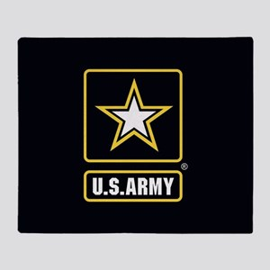 U.S. Army Logo Throw Blanket