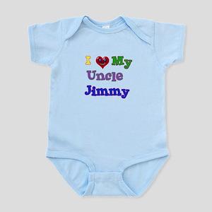I LOVE MY UNCLE JIMMY Infant Bodysuit