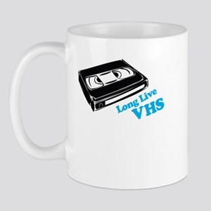 Long Live VHS, Funny Mug