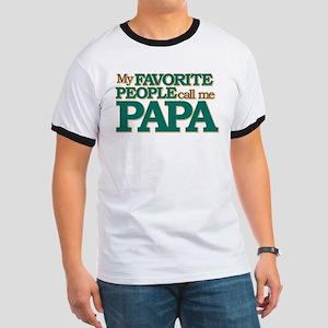 My Favorite People Call Me Papa Ringer T