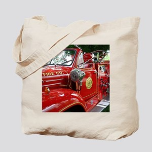 red fire engine 1 Tote Bag