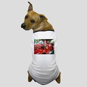 red fire engine 1 Dog T-Shirt