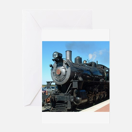 train Greeting Cards