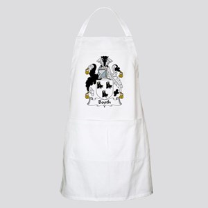 Booth Family Crest BBQ Apron