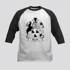 Booth Family Crest Kids Baseball Jersey