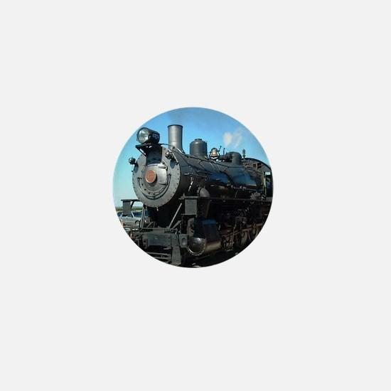 train Mini Button