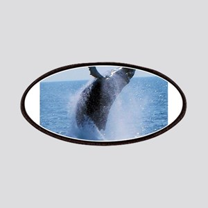 whale jumping Patch