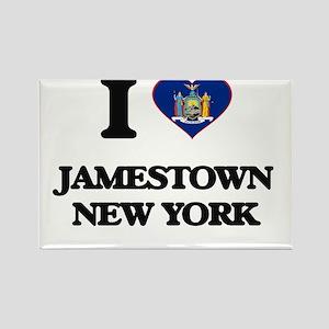 I love Jamestown New York Magnets
