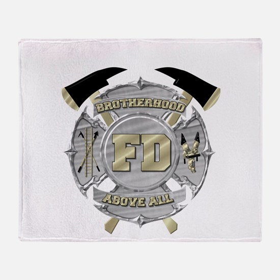 BrotherHood fire service 1 Throw Blanket