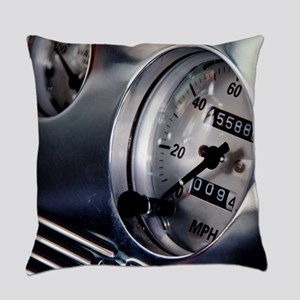 Dashboard Speedometer Everyday Pillow